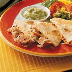 Salmon Quesadilla, going to substitute with fresh salmon to replicate those from Anchorage markets