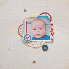 Just plain adorable, layout using Ormolu products.