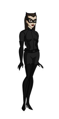 JLU Catwoman/The Cat The Dark Knight Rises by Alexbadass on DeviantArt