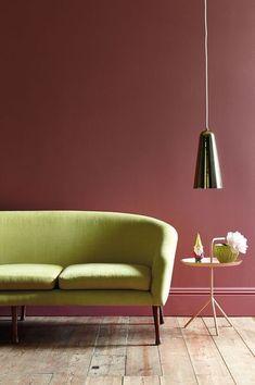 Décoration couleur marsala - Floriane Lemarié