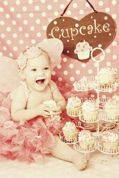 For Chelsea's 1yr photo shoot.. Love cake smash!!