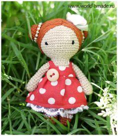 Amigurumi Doll Betty - Free Russian Pattern here: http://world-hmade.ru/masterclass/crochet_doll.php