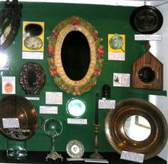 Scrying Mirrors and devices at the Cornish Witchcraft-Museum Wiccan, Magick, Pagan, Real Witches, Traditional Witchcraft, The Ancient One, Fortune Telling, Book Of Shadows, Hocus Pocus