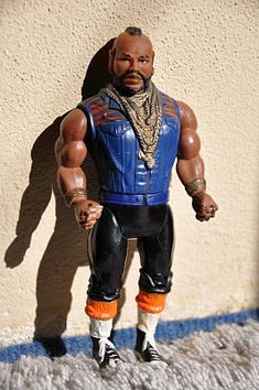 80's toys Mr T--  I still have mine, with the gun and maybe ammo case too.