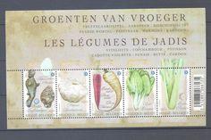 Belgium 2011 Forgotten Vegetables Souvenir Sheet MNH