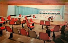 https://flic.kr/p/pizZLr | Honeymoon Haven Bowling Alley Pocono Mountains, Pennsylvania | AMF Bowling Alleys with automatic pin spotters at Honeymoon Haven in the beautiful Pocono Mountains. Viking Heights-Dingmans Ferry, Pennsylvania