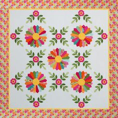 Beautiful quilt pattern offered as fundraiser for child with Primary Immunodeficiency.  Pattern by Erin Russek at One Piece at a Time