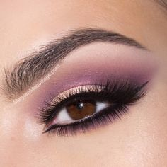 Peaches-n-Cream+Grape Soda Smokey Eye