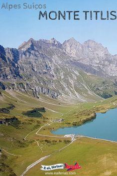 Monte Titlis, em Engelberg, Suíça!  -- Titlis Mountain, Switzerland