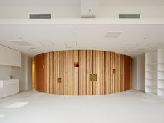 The renovation plan of changing to a kindergarten from the junior high school which was closed by a self-governing body. We changed inside typical plan of a. Kindergarten, Outdoor Decor, Projects, Furniture, Design, Kids, Home Decor, Kinder Garden, Homemade Home Decor