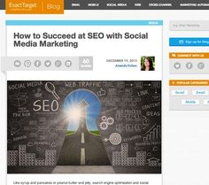Social Media SEO: Align your social media and SEO efforts through content quality, social sharing, optimized images and… http://itz-my.com