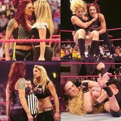 Wrestling Divas, Women's Wrestling, Wwe Highlights, Wwe Lita, Wwe Trish, Wwf Superstars, Wwe Raw And Smackdown, Wwe Couples, Trish Stratus