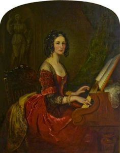 Susan Euphemia Beckford, Duchess of Hamilton, Wife of Alexander, 10th Duke of Hamilton by Willes Maddox Date painted:1852 Oil on canvas, 142.2 x 111.7cm Collection:The National Trust for Scotland