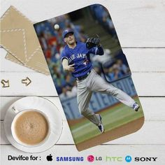 Josh Donaldson Blue Jays Leather Wallet iPhone 4/4S 5S/C 6/6S Plus 7| Samsung…