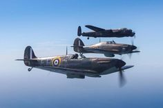 A stunning picture from The Battle of Britain Memorial Flight.