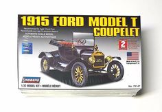 1915 Ford Model T (Lindberg) Authentic Scale Model Kit  Scale: 1/32 - New | eBay