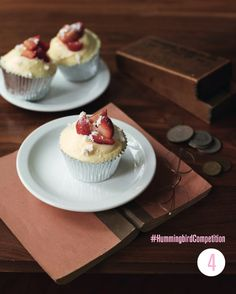Eton Mess Cupcakes. Enter our #HummingbirdCompetition by March 6th, 2013 for a chance to win 1 of 3 free Home Sweet Home cookbooks. Rules and how to enter can be found here: https://www.facebook.com/notes/the-hummingbird-bakery/win-a-copy-of-home-sweet-home/567680519908799