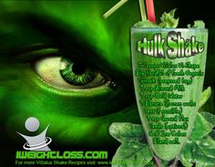 ViSalus Hulk Shake Recipe: Scoops Vi-Shape Nutritional Shake Mix - Big Handful of Fresh Organic Spinach (you can get the pre-washed and prepared bag) - 1 cup Unsweetened Almond Milk - 1 cup Cold Water - 1 Banana (frozen works best if possible) - 1 tsb Ground Flax Seeds (optional) - 6-8 Ice Cubes - Blend well and enjoy!