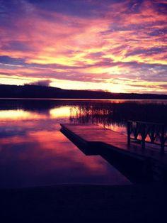 #Sunset #Finland #Jyväskylä