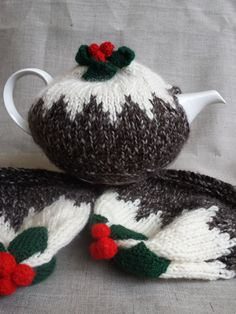 Hey, I found this really awesome Etsy listing at https://www.etsy.com/listing/208484018/hand-knitted-christmas-pudding-tea-cosy