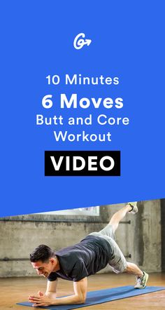 Everyone's got 10 minutes. #greatist http://greatist.com/move/home-workout-10-minute-core-and-butt-workout