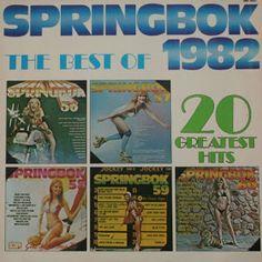 Springbok: Springbok Hit Parade Best Of / Top Hits Album Covers, Growing Up, South Africa, Baseball Cards, Hot, Grow Taller, Torrid