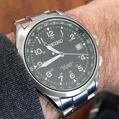 [Seiko] Welcome to the Valhalla of discontinued watches my Alpinist friends. It aint so bad. http://ift.tt/2EUgXt0
