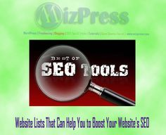 Website Lists That Can Help You to Boost Your Website's SEO MizPress