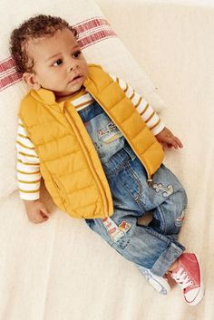 Buy Ochre Gilet (0mths-2yrs) online today at Next: Hungary