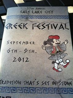 #Greek festival in #SaltLakeCity runs Sept. 6-9