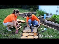 Homes.com DIY Experts Share How-To Create a Natural Outdoor Pathway - YouTube