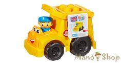 Mega Bloks Sonny az iskolabusz 6 db építőkockával (CND83)