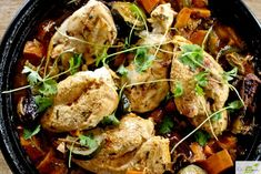 Ras El Hanout, World Recipes, Tandoori Chicken, Slow Cooker, Food And Drink, Yummy Food, Meat, Dinner, Healthy