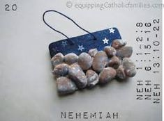 crafts nehemiah rebuilding wall - Google Search