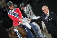 Will She Do It Again? Beezie Madden Could Repeat World Cup History on Sunday – Noelle Floyd. She did it!