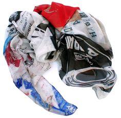 """Bricklane"" silk scarf - Good&Co"
