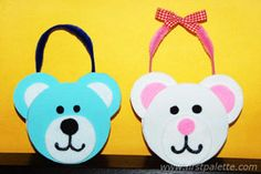 Teddy Bear Tote craft