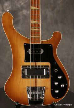 Rickenbacker 4001 Bass 1980 Walnut/Autumnglo