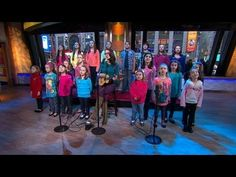 """Ingrid Michaelson + children from Newtown, CT sing """"Somewhere Over the Rainbow"""" (from GMA).  Song available on iTunes"""