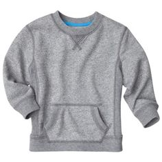this sweatshirt looks SO comfy. would look so cute with a plaid button-down underneath. i want one in my size, too!