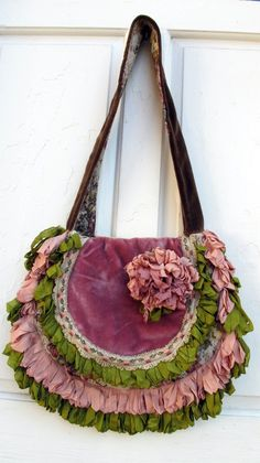 Gypsy vagabond boho bag from gypsyfishstudio Etsy