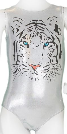 Silver Tiger Leotard #leotards #gymnastics #gymnast #leotard