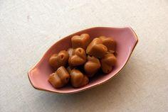 Seige karameller med vikingmelk, sukrin og yaconsirup