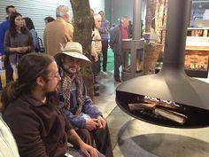 Chimenea Quento Gyrofocus Templates, Santiago De Compostela, Wood Burning Fireplaces, Events, Green
