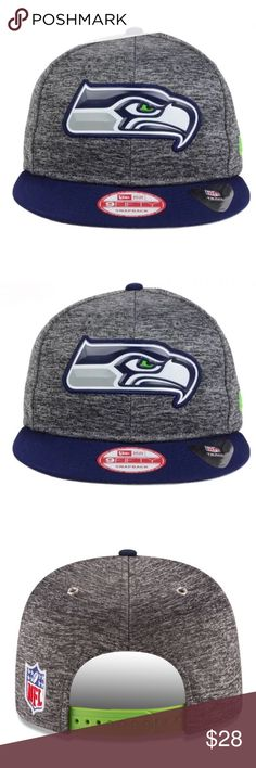 Cap - Seattle Seahawks - NFL - New Era Cap New Era Cap/ SnapBack/ retails for 32$/ new with tags/ just in time for football season New Era Accessories Hats