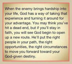 First sentence got me. Amen amen amen!