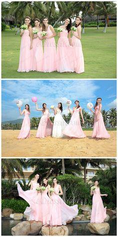 Pink bridesmaid dresses from eDressit!  #edressit #bridesmaid_dresses #wedding #fashion