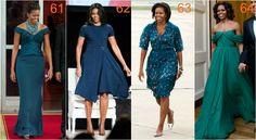 michelle obama morski Dark Autumn, Deep Winter, Michelle Obama, Shirt Dress, Green, Shirts, Dresses, Fashion, Vestidos
