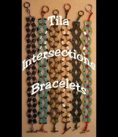 Instant Download! Miyuki Tila Intersections Bracelet Pattern by stella