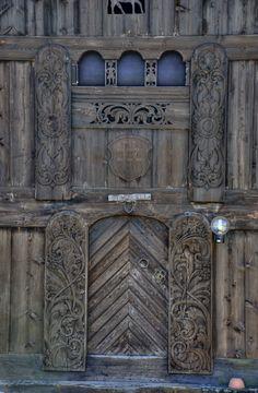 entrance to stabbur